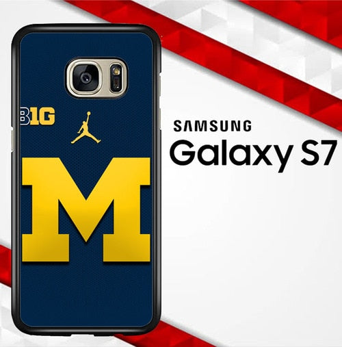 michigan wolverines W4837 coque Samsung Galaxy S7