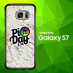 pi day poster W5412 coque Samsung Galaxy S7