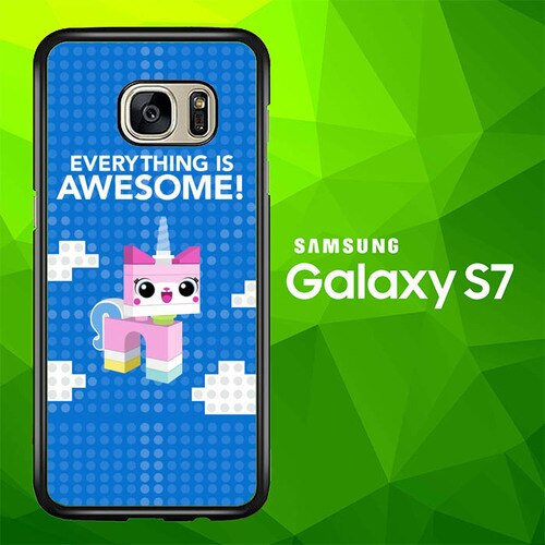 the lego movie 2 the second part W5743 coque Samsung Galaxy S7