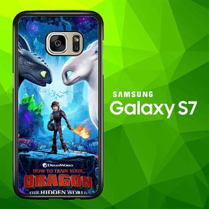 the hidden world dragon W5747 coque Samsung Galaxy S7