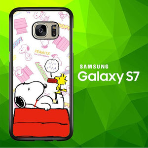 snoppy W7021a coque Samsung Galaxy S7
