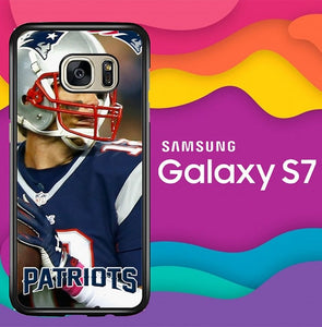 new england patriots W8763 coque Samsung Galaxy S7