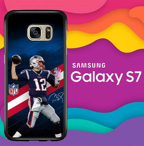 new england patriots W8764 coque Samsung Galaxy S7