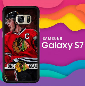 Chicago Blackhawks W8774 coque Samsung Galaxy S7