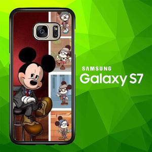 mickey mouse W9007 coque Samsung Galaxy S7