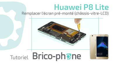 ouvrir coque huawei p8