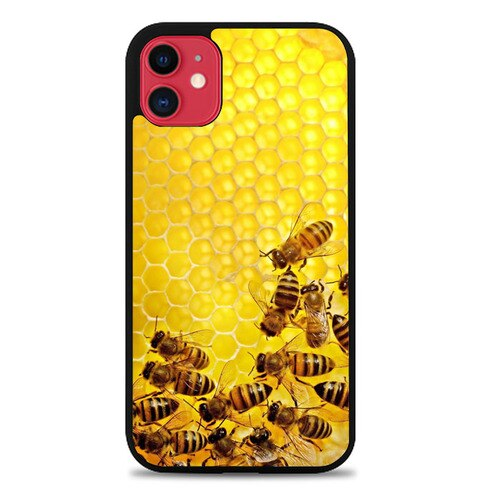 Bee Honeycomb E0257 coque iphone 11