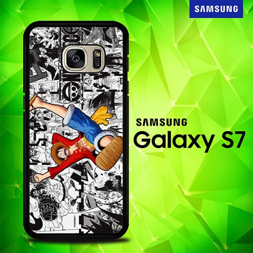 Monkey D Luffy E0383 coque Samsung Galaxy S7