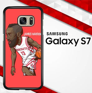James Harden basketball Sport Houston Rockets E0856 coque Samsung Galaxy S7