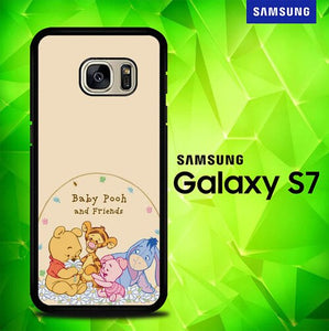 Winnie The Pooh Cartoon And Friends Cute E0992 coque Samsung Galaxy S7