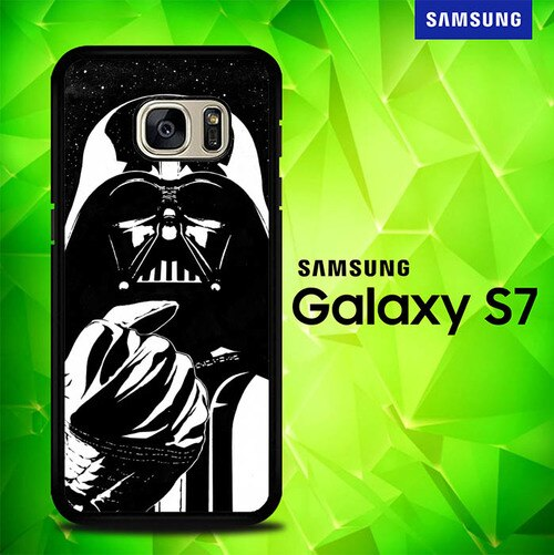 Star Wars Nebula Darth Vader E1236 coque Samsung Galaxy S7