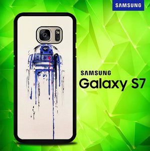 Painting Starwars Art Illustration E1500 coque Samsung Galaxy S7