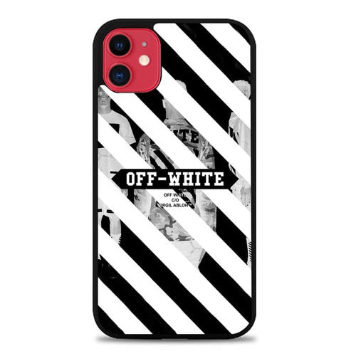 Coque iphone 5 6 7 8 plus x xs xr 11 pro max OFF-WHITE STYLE E1655