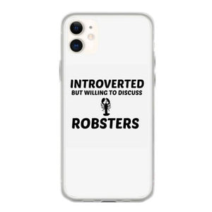 robsters introverted but willing to discuss coque iphone 11