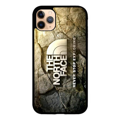 the north face logo Z5387 iPhone 11 Pro Max coque