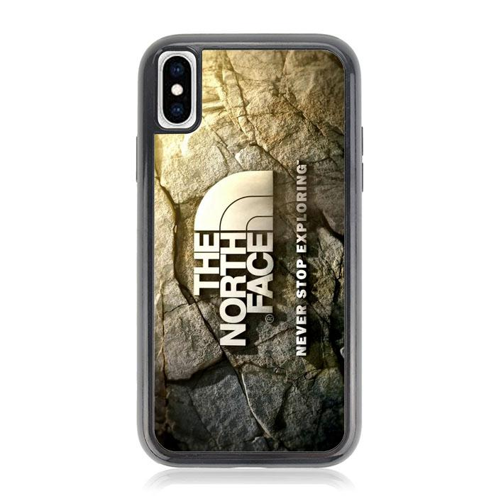 the north face logo Z5387 iPhone XS Max Case coque 872515895 699x