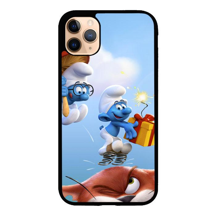 the smurfs Z4885 iPhone 11 Pro coque