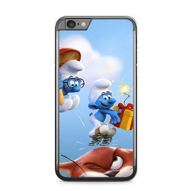 the smurfs Z4885 iPhone 6 Plus, 6S Plus coque