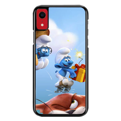 the smurfs Z4885 iPhone XR coque