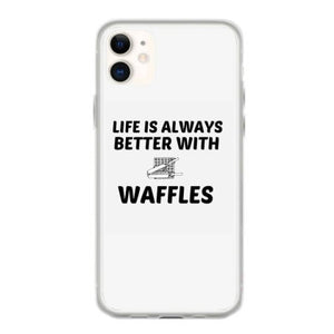 waffle life is better coque iphone 11