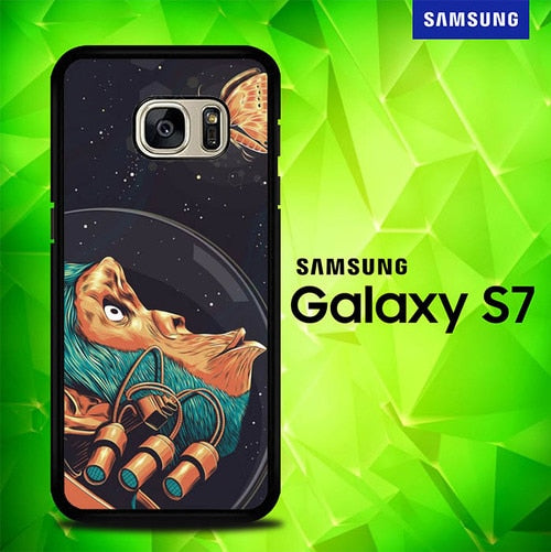 Astro Monkey And Butterfly P0325 coque Samsung Galaxy S7