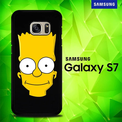 Simpson a Head P0421 coque Samsung Galaxy S7