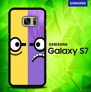 Minion Monster P0742 coque Samsung Galaxy S7