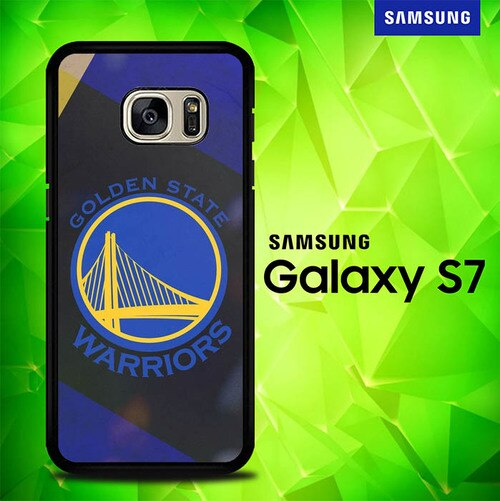 Golden State Warriors Logo P0794 coque Samsung Galaxy S7
