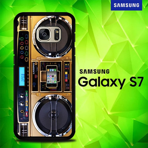 Radio Tape P0932 coque Samsung Galaxy S7