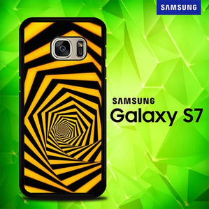 Orange 3D P1044 coque Samsung Galaxy S7