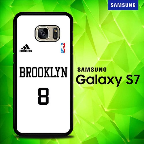 NBA Brooklyn Jersey P1165 coque Samsung Galaxy S7