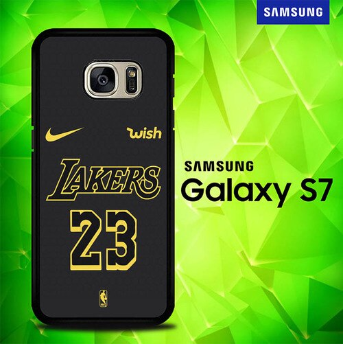 NBA Jersey Lakers 23 P1169 coque Samsung Galaxy S7