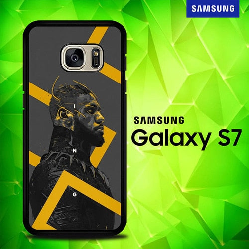 Black Panther P1184 coque Samsung Galaxy S7