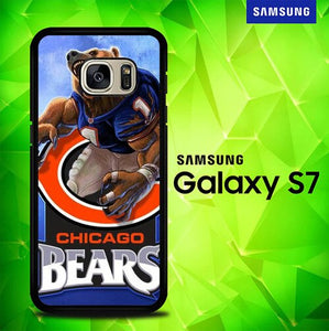 Chicago Bears P1230 coque Samsung Galaxy S7