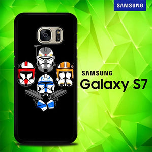 Clone Wars x Queen P1231 coque Samsung Galaxy S7