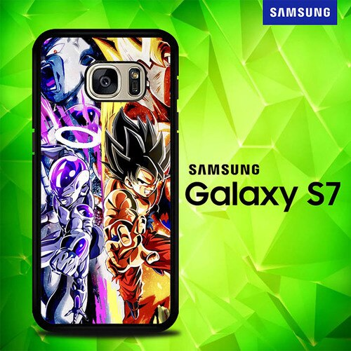 Goku and Frieza Dragonball Super P1239 coque Samsung Galaxy S7