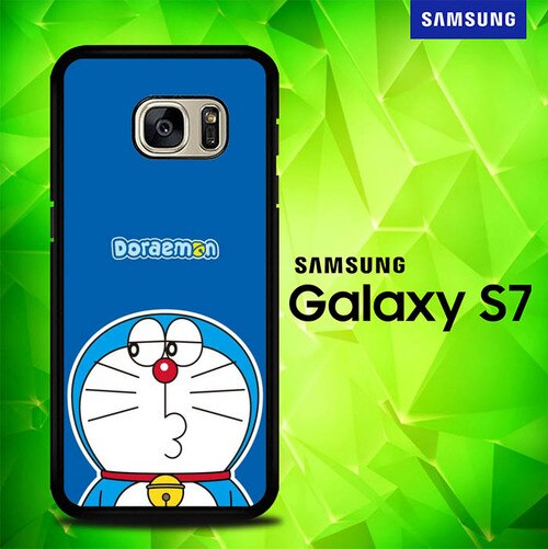 Doraemon Cute P1280 coque Samsung Galaxy S7