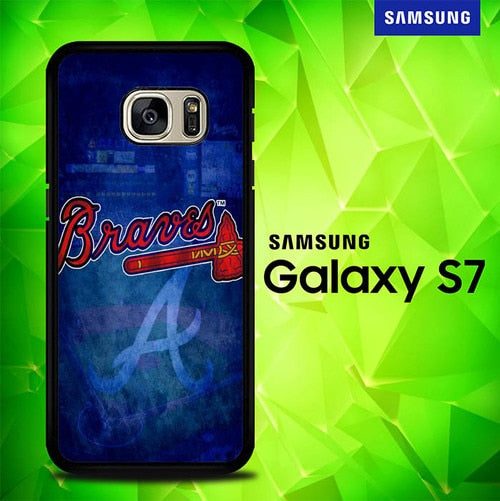 Atlanta braves wallpaper P1514 coque Samsung Galaxy S7