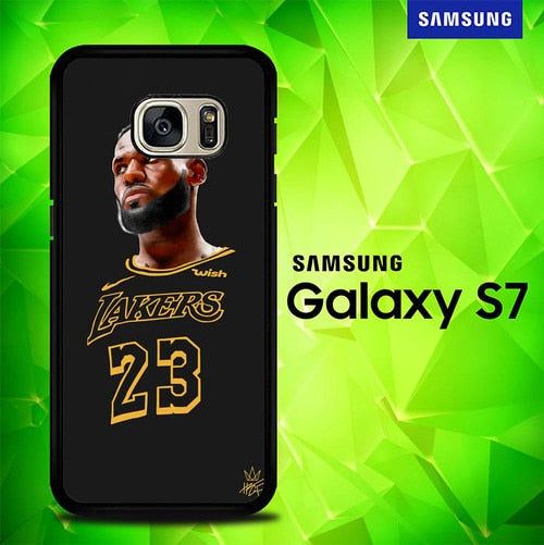 Nba Lakers Player P1608 coque Samsung Galaxy S7