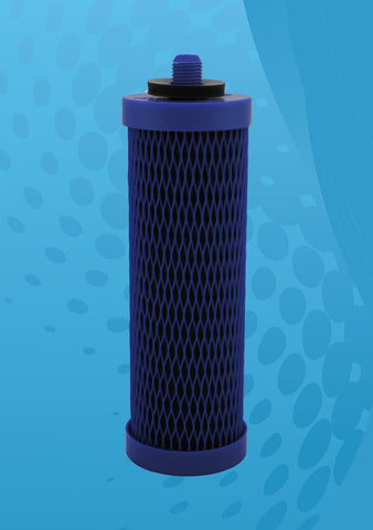 AquaVas™ Blue Stoneware Gravity Filter System