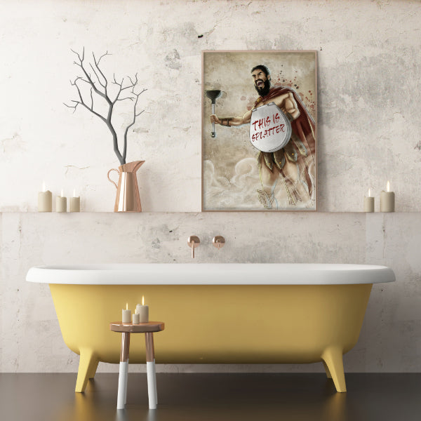 Bathroom Art Posters