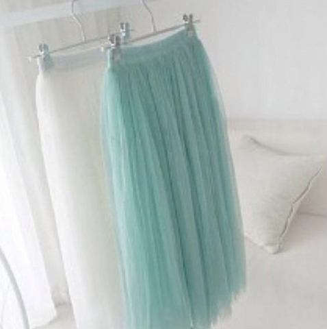 My Name Is Tulle - Mint Green