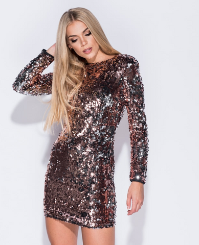 Tis The Season - Sequin Party Dress