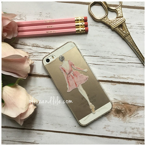 Ballerina Illustration - Phone Case (iPhone 5/5s)