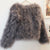 Hepburn - Ostrich Feather Coat - Smokey Grey