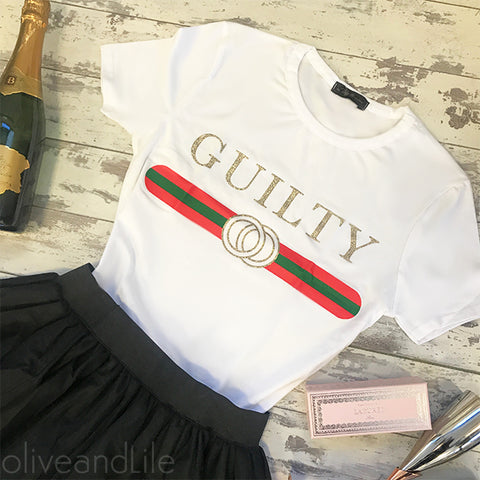 Guilty Tee - White
