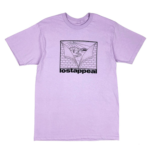 BETTER DAYS AHEAD TEE (purple)