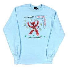Load image into Gallery viewer, BE HERE, BE NOW LONGSLEEVE (blue)