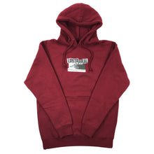 Load image into Gallery viewer, STRUGGLING TO TRUST HOODIE (maroon)