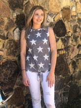 Load image into Gallery viewer, Star Print Knit Top